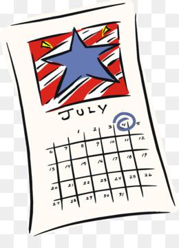 260x360 Clip Art July 2018 Calendar