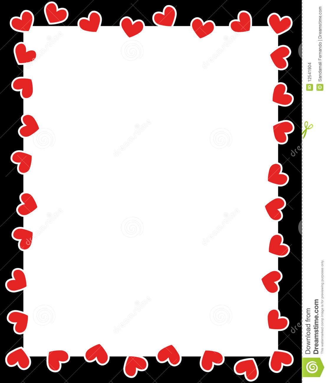 1113x1300 Valentine Border Clip Art Valentine Hearts Border Clip Art New