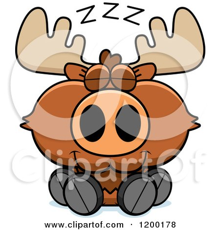 450x470 Royalty Free (Rf) Cute Moose Clipart, Illustrations, Vector