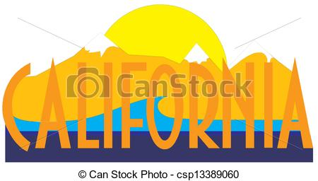 450x256 California Clip Art Vector