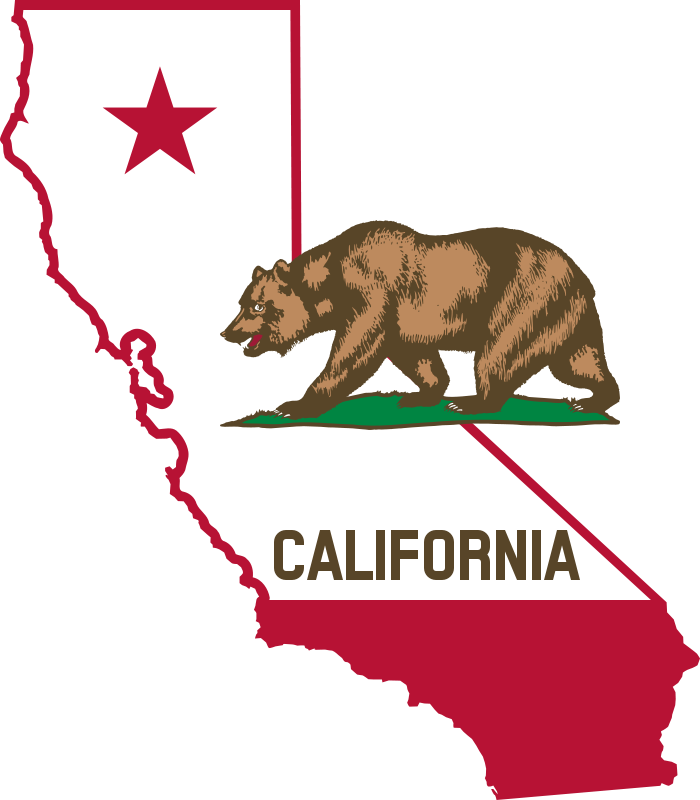 700x800 Free Clipart California