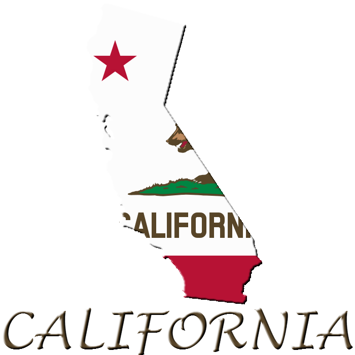 700x700 State Of California (Clipartlogo) By Uda4754