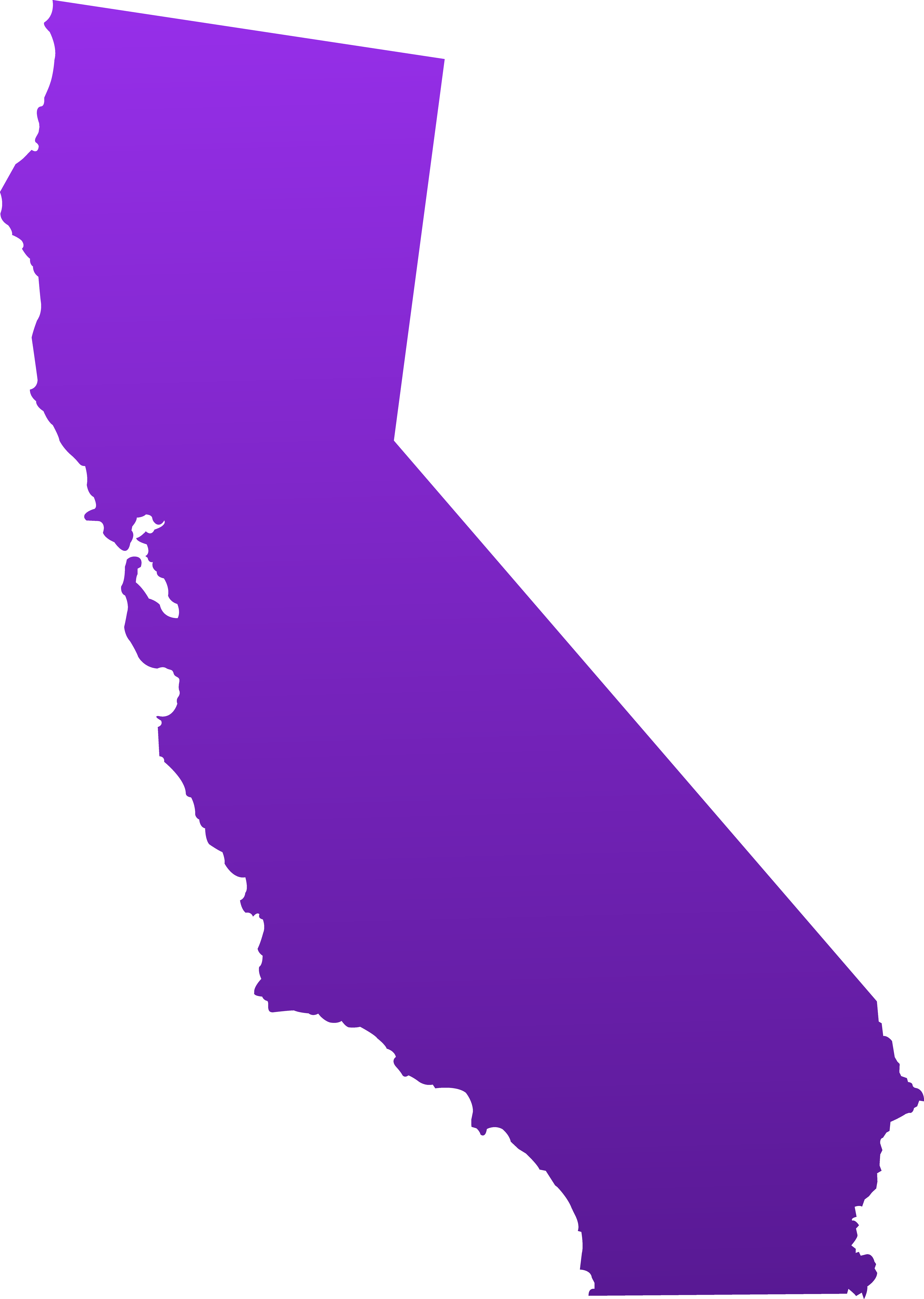 6495x9131 California Clip Art