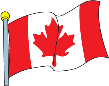 381x302 Collection Of Canada Flag Clipart High Quality, Free