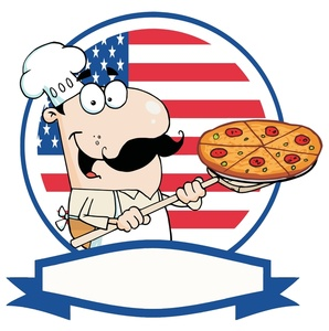 298x300 Free Pizza Clip Art Image