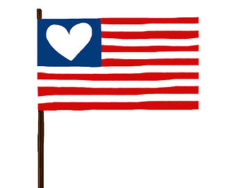 340x270 American Flag Graphic Free Download Clip Art