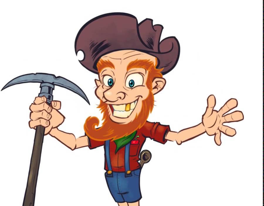 900x702 Prospector Cartoon Character Animation