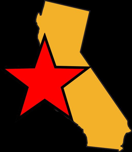 516x593 California Map Cliparts