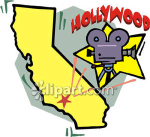 300x274 Hollywood Star On Map Of California