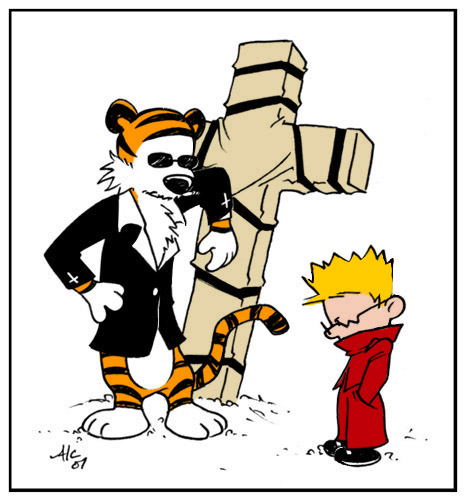 466x500 Calvin The Stampede Calvin And Hobbes Know Your Meme