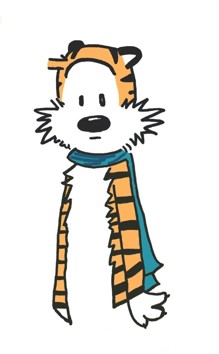 703x1136 Image Of Calvin And Hobbes Clipart