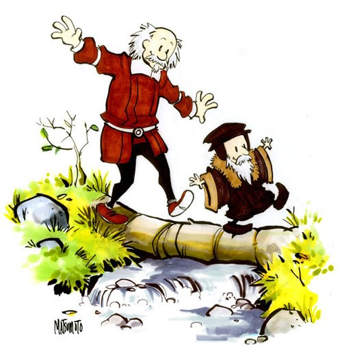 500x516 Monday Mix Up (John) Calvin And (Thomas) Hobbes Comicmix