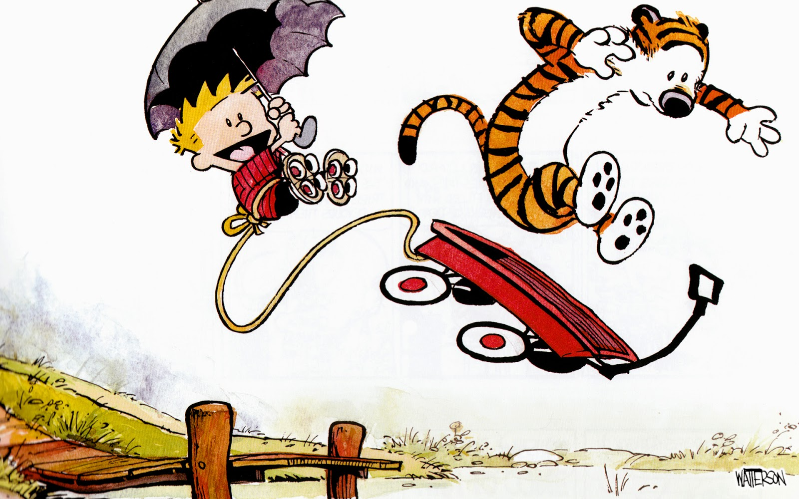 1600x1000 The Stuff Of Legend Calvin And Hobbes