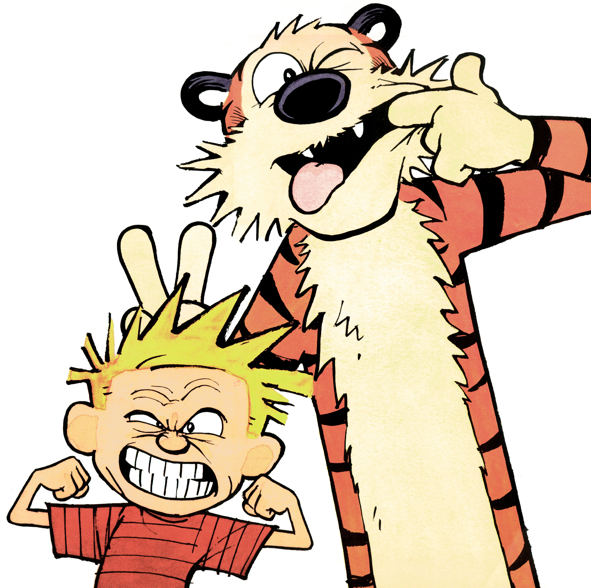 2000x1989 Portrait Calvin And Hobbes Know Your Meme