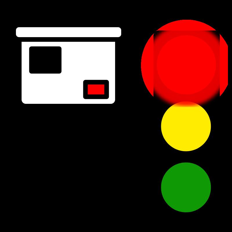 800x800 Free Clipart Red Light Camera Milovanderlinden
