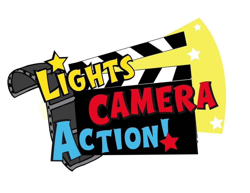 1035x800 Lights Camera Action Clip Art Clipartlook