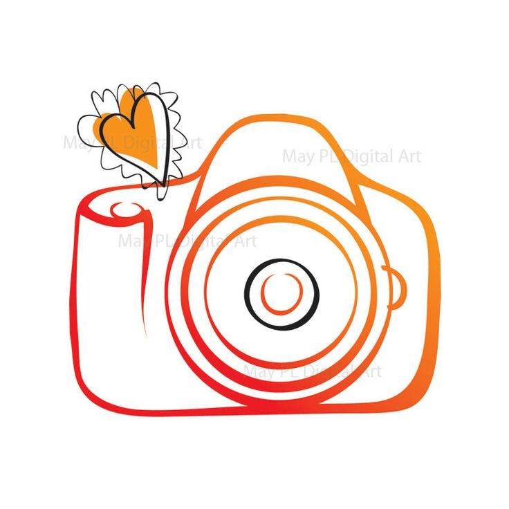 736x736 Photography Clipart Camera Logo
