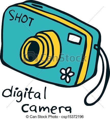 433x470 Camera Clipart Vector Digital Camera Doodle Clipart Panda Free