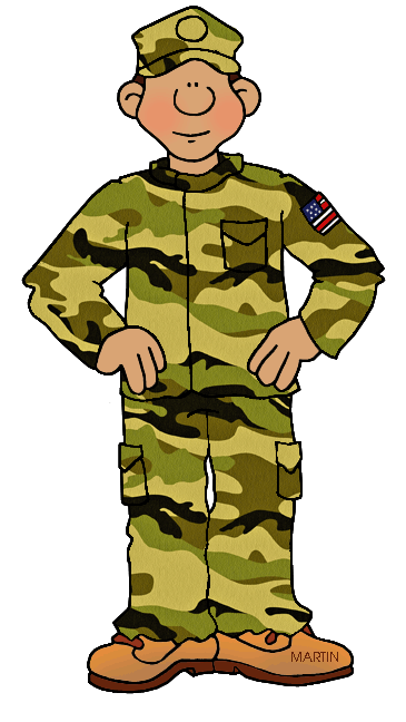 365x648 Military Cliparts Black