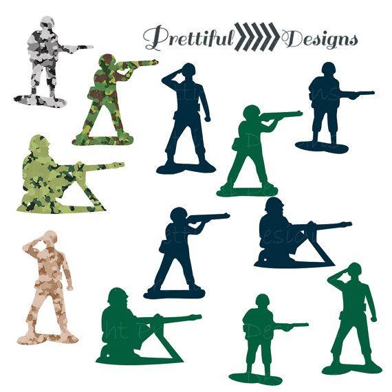 570x570 Army Men Clip Art