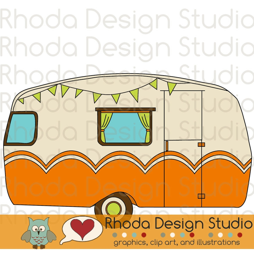 864x864 Campers Clipart