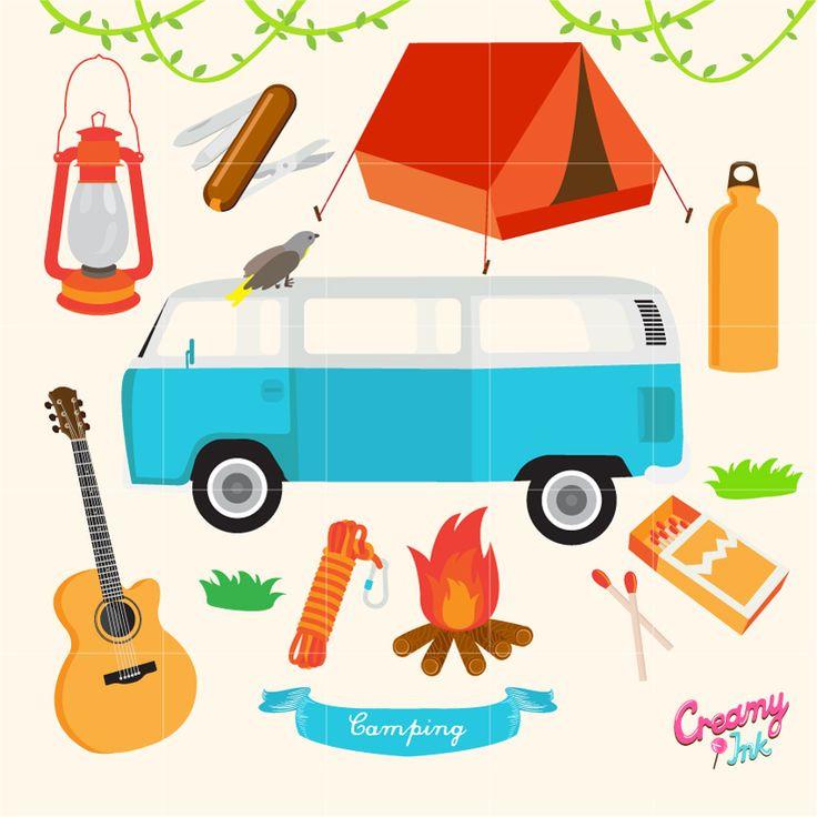 736x736 Clip Art Van Inspirational Retro Camper Clipart Clipart Camping