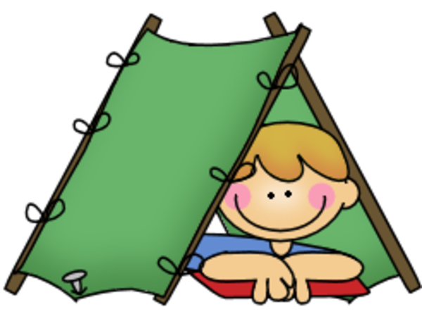 600x446 Boy Camping Free Camp Theme Camping Out Theme Bulletin Boards