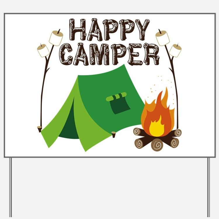 750x750 Happy Camper Clipart