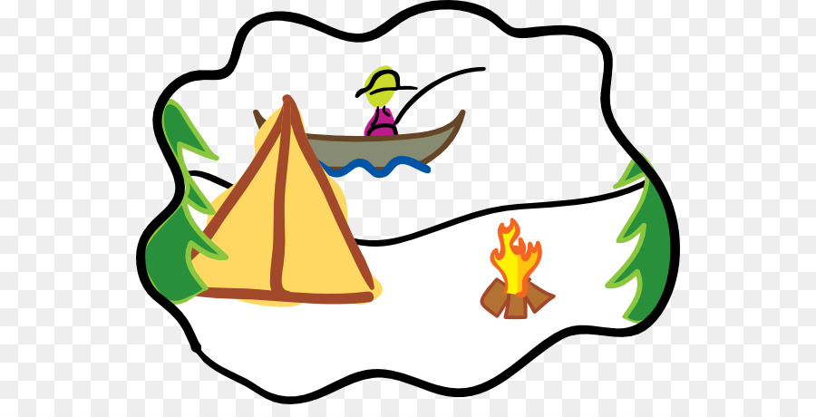900x460 Camping Campsite Summer Camp Clip Art