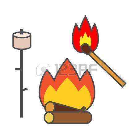 450x450 Matches Campfire Clipart, Explore Pictures