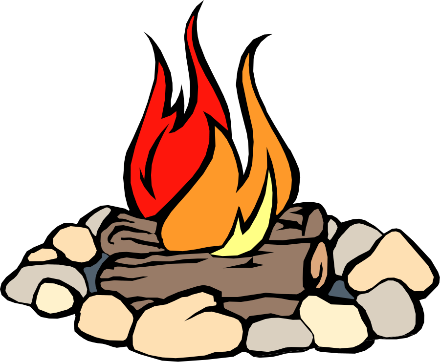 900x741 Campfire Clipart Free