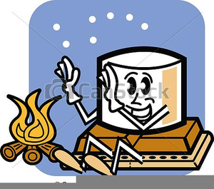 300x265 Funny Camping Clipart Free Images