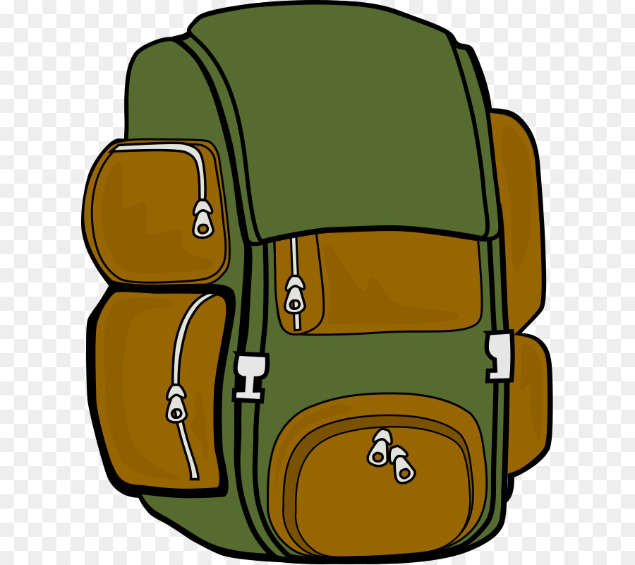 900x800 Backpack Hiking Camping Clip Art