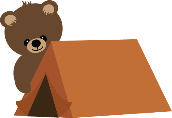 570x393 Cute Camping Clip Art Pictures To Pin