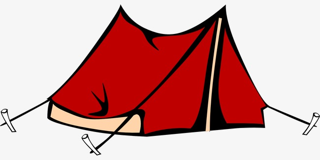 650x325 Red Camping Tent, Red, Camping, Tent Png Image And Clipart