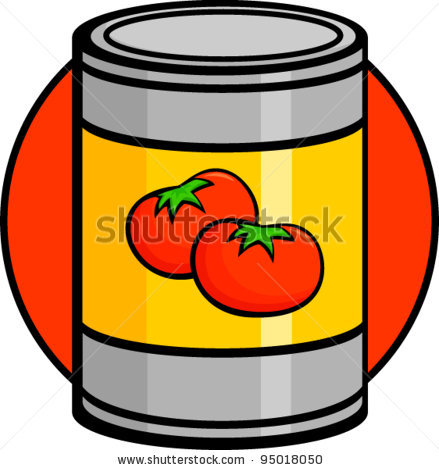 439x470 Clip Art Can Can Clipart Canned Soup Pencil And In Color Can