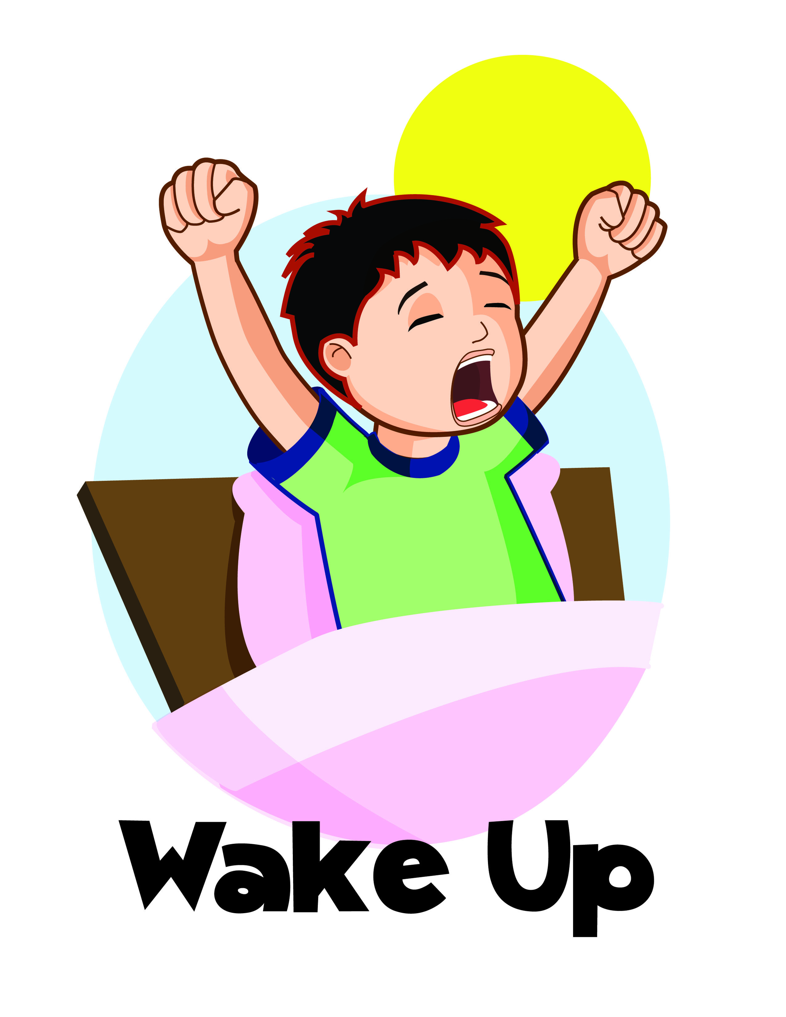 2550x3300 11 Wake Up Clip Art Free Cliparts That You Can Download To You
