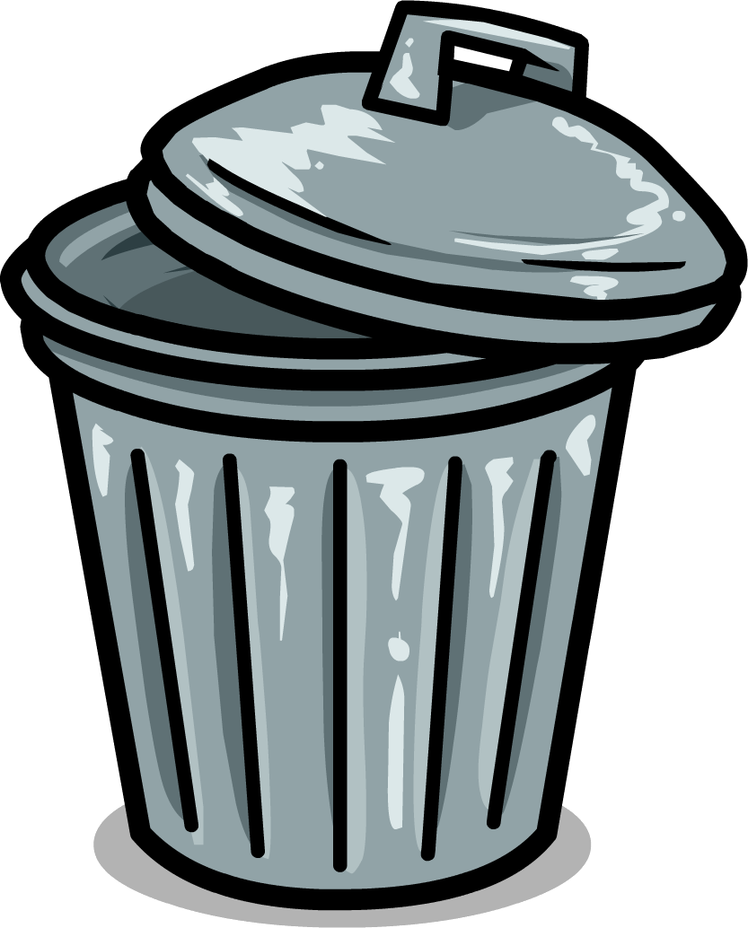 833x1034 Garbage Cans Clipart Collection