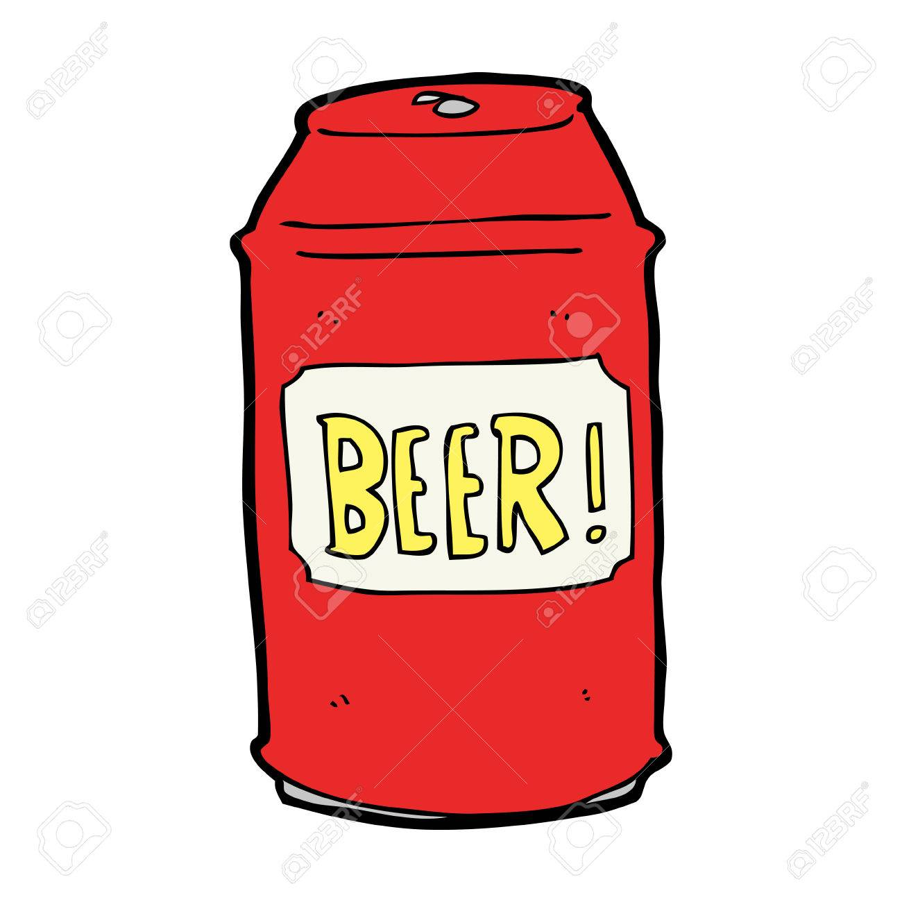 1300x1300 Beer Can Clipart 27865193 Cartoon Beer Can