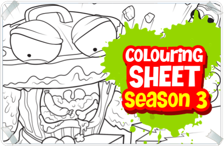 460x300 Charming Decoration Grossery Gang Coloring Pages The Canada Prints