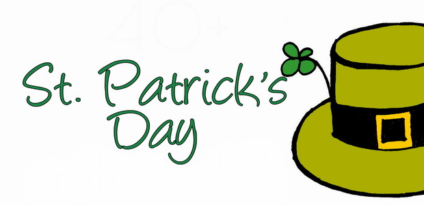 620x300 St Patrick's Day Coloring Pages