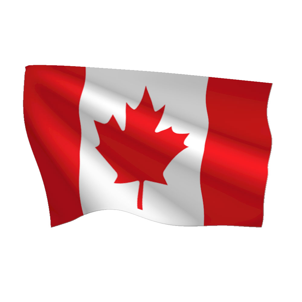 1000x1000 Colorful Canada Flags Pictures Stick Paper Can