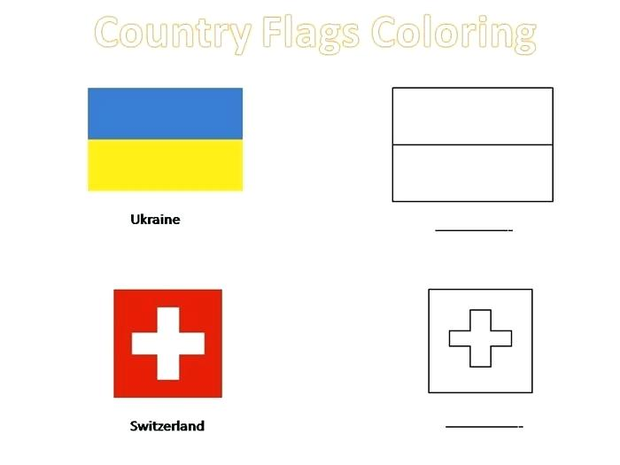 700x525 Country Flag Coloring Pages Spanish Speaking