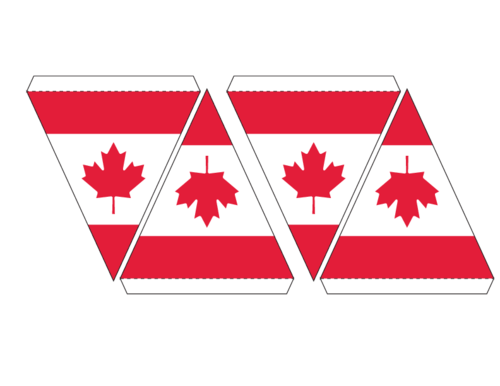 500x386 Free Printable With This Page. Click. Canadian Flag Maple Leaf