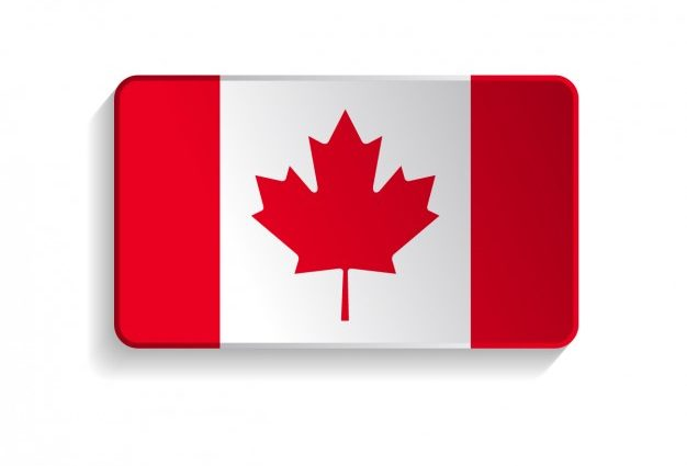 626x425 Canada Flag Template Canadian Vector Free Download