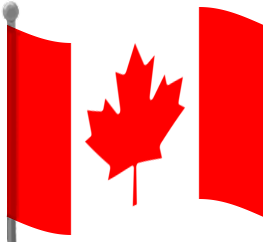 263x242 Collection Of Canada Flag Waving Clipart High Quality, Free