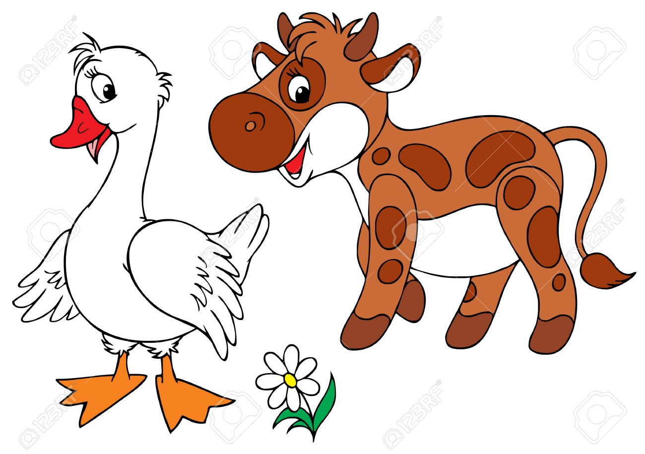 1300x915 Goose Clipart Brown