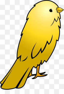 260x380 Free Download Domestic Canary Big Bird Clip Art