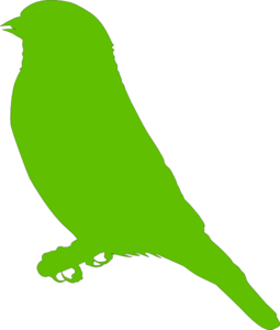 255x300 Lighter Green Bird Png, Svg Clip Art For Web