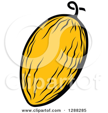 450x470 Royalty Free (Rf) Canary Melon Clipart, Illustrations, Vector